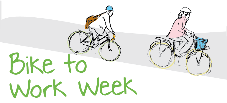 bike to work week, event graphic