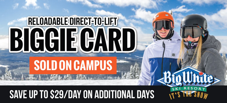 biggie card: reloadable direct to lift