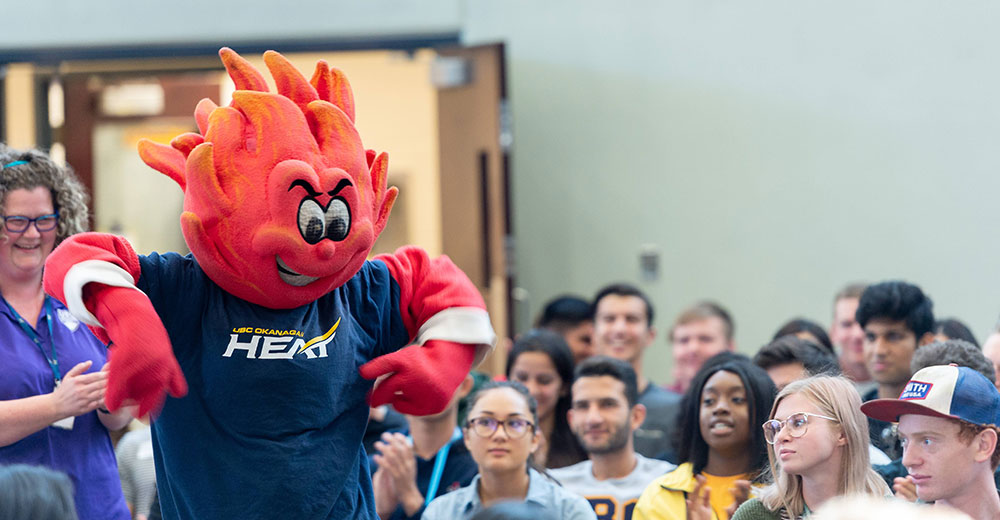 scorch at a student event