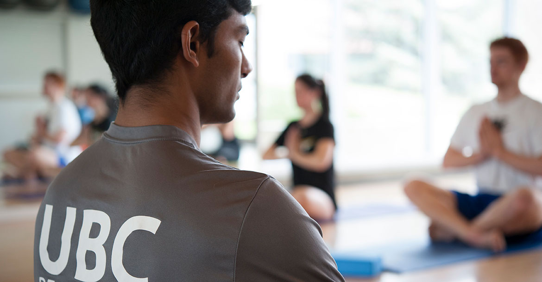 yoga, fitness class, meditation, hangar